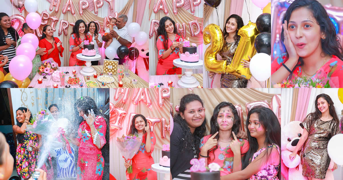 Nayanathara Wickramarachchi 21st Birthday Celebration 2019