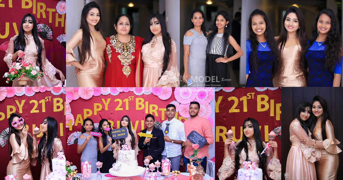 Ruvi Lavanya Siriwardana 21st Birthday Celebration 2018