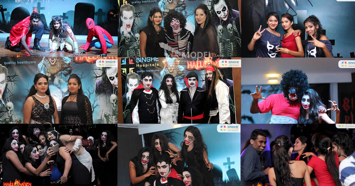 Haloween Party - Singhe Night Fiesta