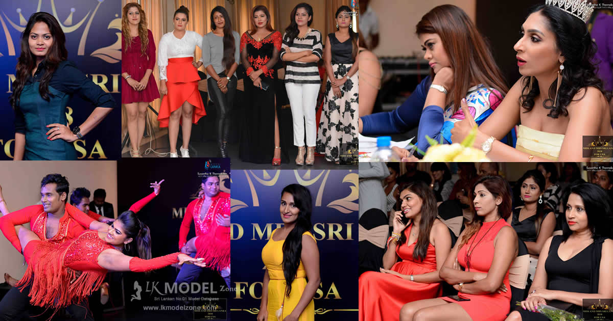 Miss and Mrs Srilanka 2018 Auditions