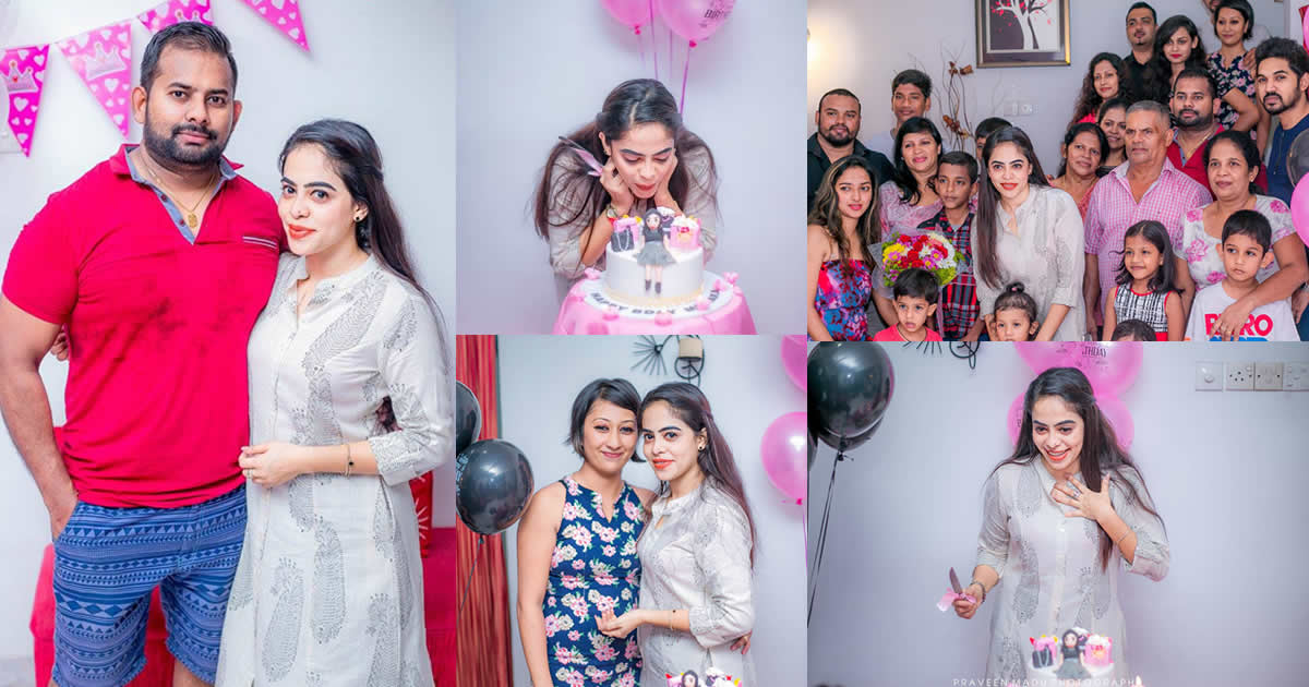 Menaka Madhuwanthi Birthday Celebration 2017 - Surprise Party