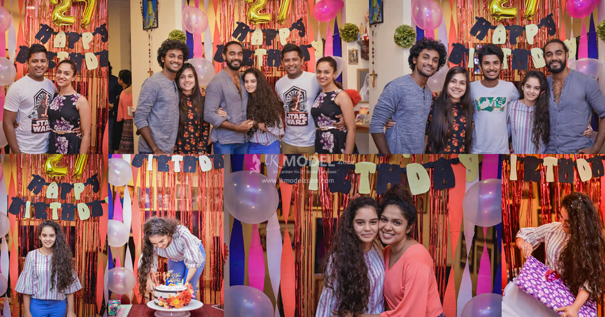 Akila Dhanuddara Girlfriend Birthday Surprise Party