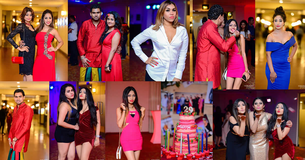 Malith Ranasinghe Birthday Party Celebration