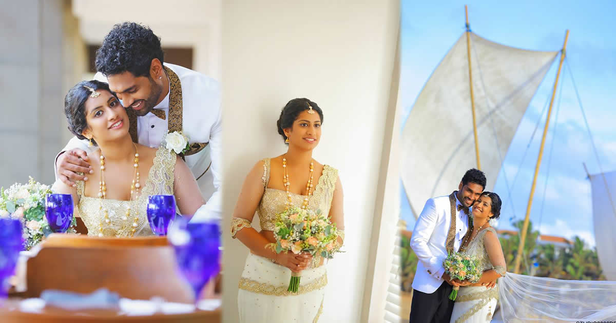 Akalanka Ganegama and Shachini Bamunuge Wedding