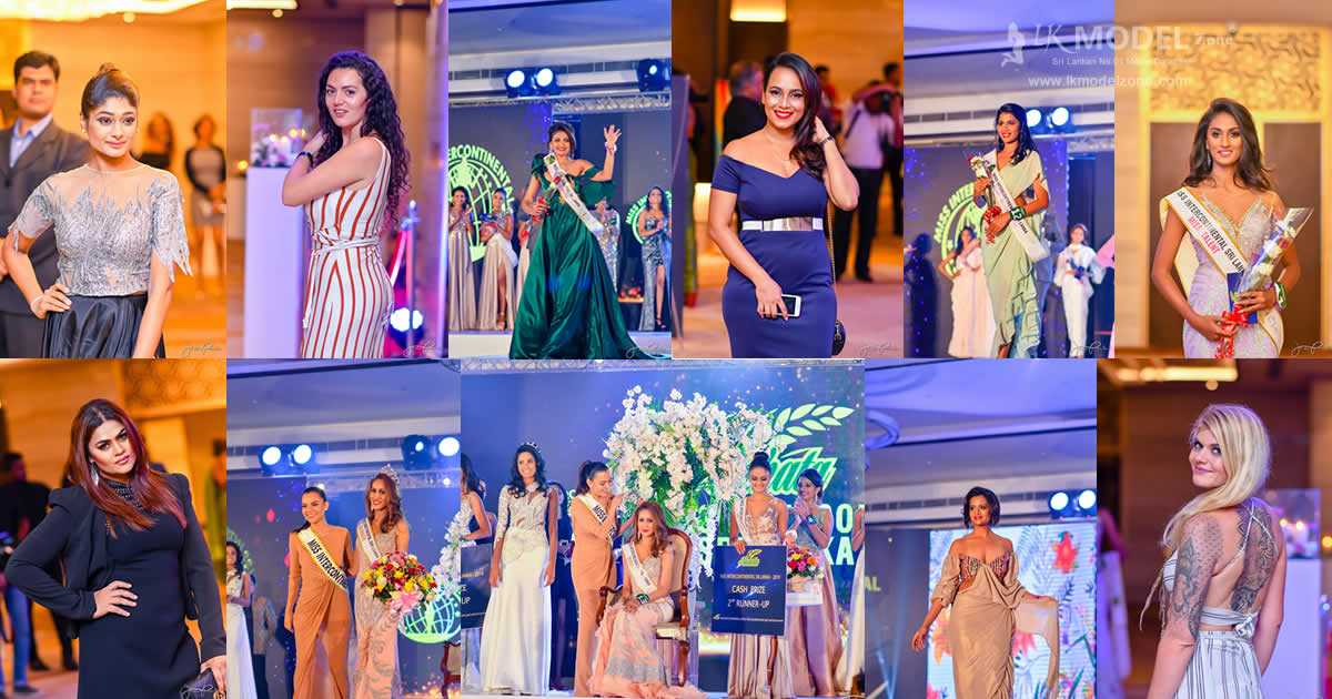 Miss Intercontinetal Sri Lanka 2019 Grand Final