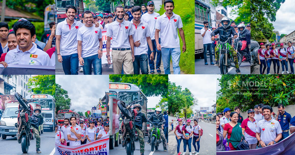 Little Hearts Humanity Walk Kandy 2018