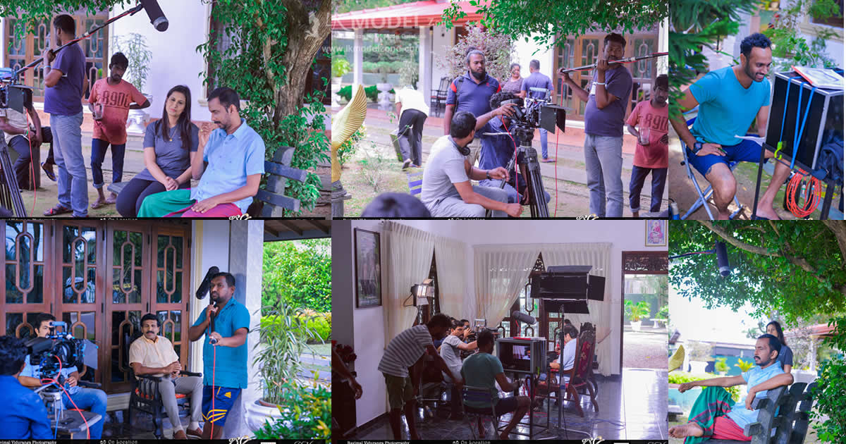 Poori Teledrama On Location
