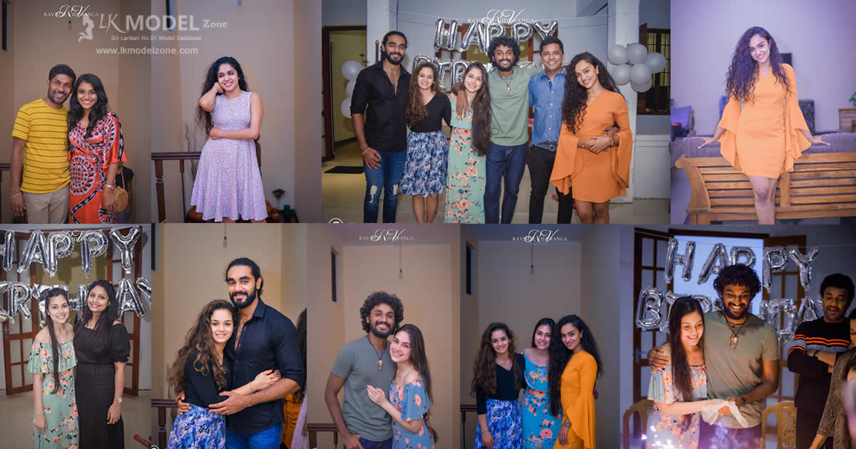 Sajith Anuththara and Buvinika Birthday Celebration 2018
