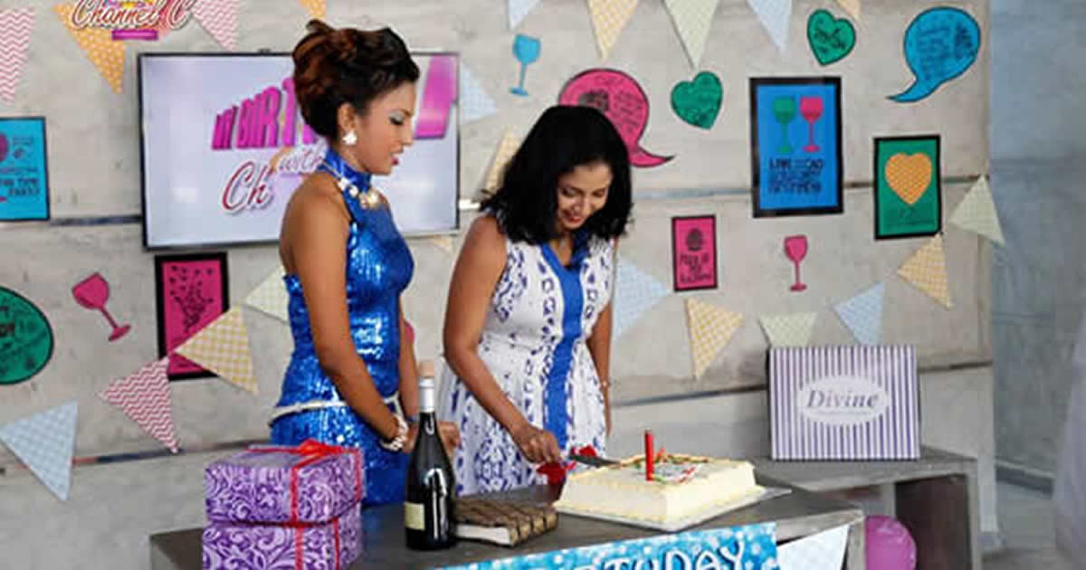 Dilhani Ashokamala s Surprise Birthday Celebration
