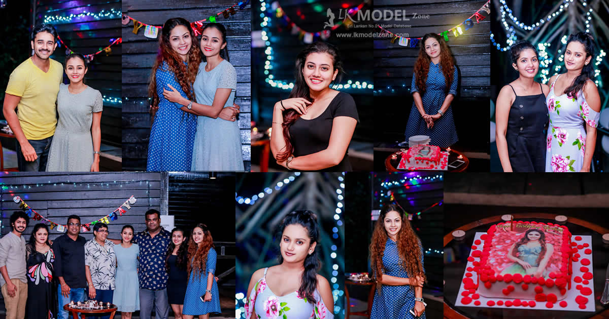 Shalani Tharaka 28th Birthday Celebration 2018