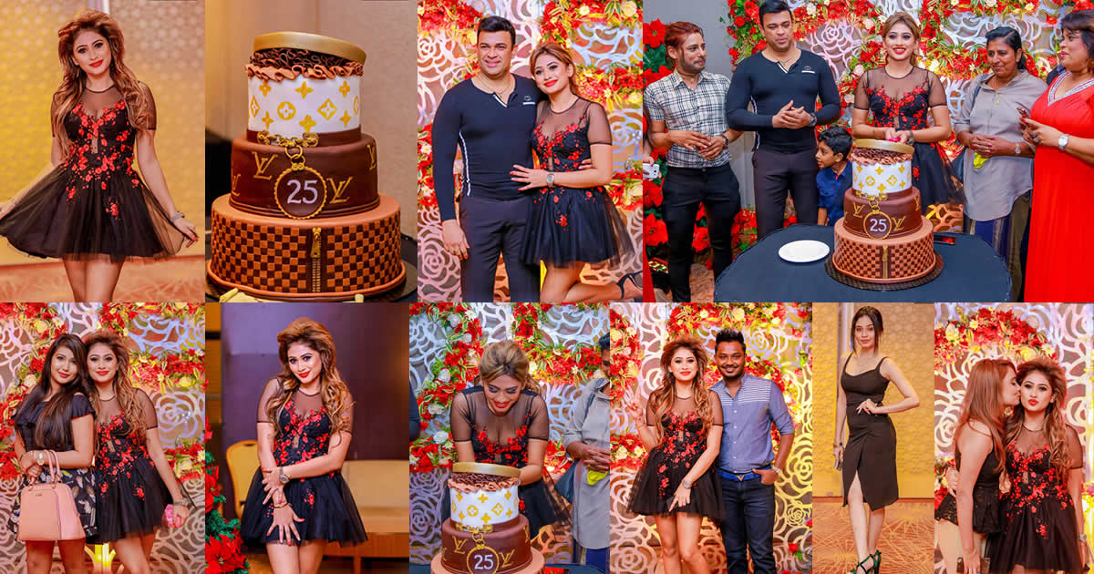 Piumi Hansamali 25th Birthday Celebration 2017