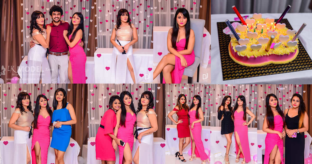 Rashini Kumarasiri 21st Birthday Celebration 2018