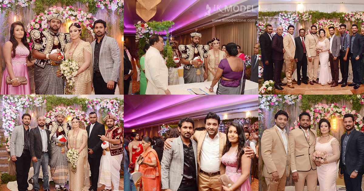 Actor Asitha Attanayake Wedding