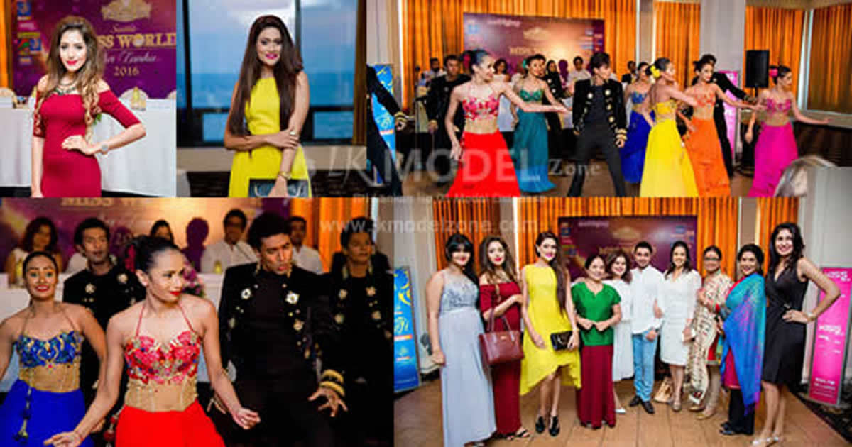Siyatha Miss World Sri Lanka 16 Press Conference